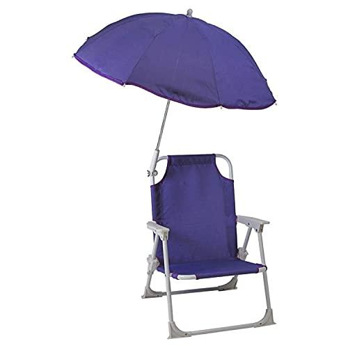 Redmon Beach Baby Umbrella Chair, Purple