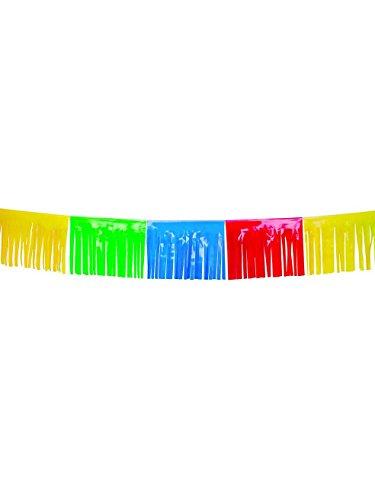 COOLMP – Guirnalda de Flecos,, 10 m, Talla única, decoración para Fiestas, animación, cumpleaños, Boda, Evento, Juguete, Globo