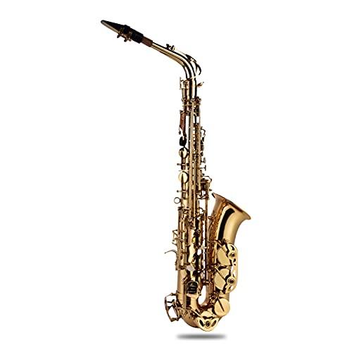 Alto Saxophone Professional Eb Saxophone Eb Alto Saxophone Brass Lacquered...
