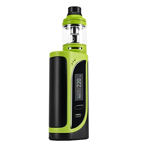 Sigaretta elettronica Eleaf iKonn 220Watt E Shisha Starter set Ello vaporizzatore 4 ml No nicotina (Verde nero)