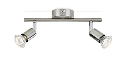 Philips GU10 Essentials Limbali Spot Bar / Tube Light, Nickel Modern nickel