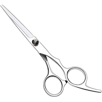 Hair Cutting Shears, 6.8 Inch Stainless Steel Haircut Barber Scissors for Women, Men and Babies