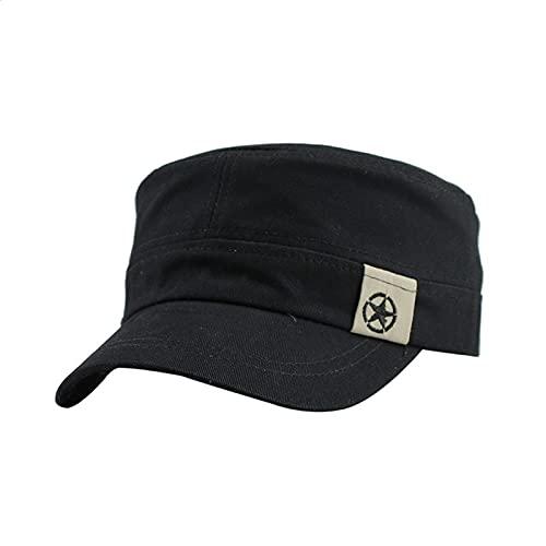 XINGENG sombrero sombrero vintage algodón Gorras Planas...
