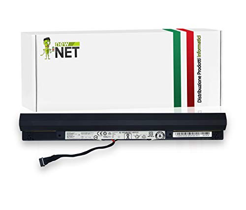 New Net L15M4A01 L15L4A01 L15S4A01 L15S4E01 Batteria per Computer Portatile Compatibile per Lenovo IdeaPad 100-14IBD 100-15IBD B50-50 B71-80 300-15ISK 100 80QQ TianYi100-14 100-14IBD 100-15IBD