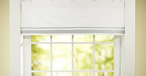 Just Born Window Valance, Grey