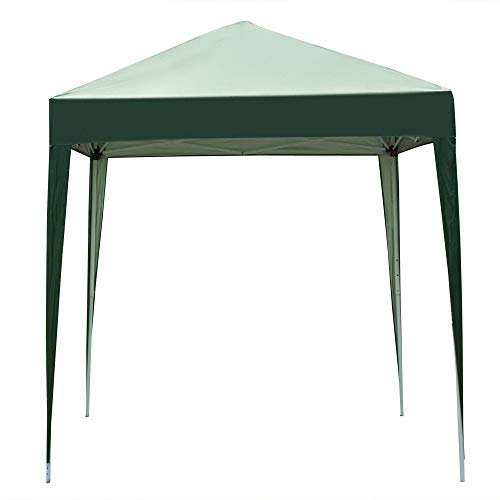 ICOCO Pop-up Gazebo Party Tent 2 x 2m Waterproof Outdoor Garden Marquee Canopy (Green)