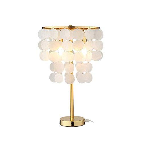 MISS KANG Lámpara de mesa de luz nórdica, moderna minimalista cálida romántica lámpara interior de mesita de noche, lámpara de noche adecuada