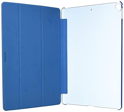 LEPLUSiPadPro12.9inch/iPadPro背面クリアフラップケース「ClearNote」ブルー