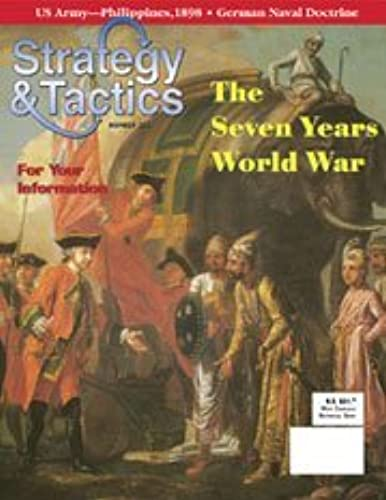 DG  Strategy & Tactics Magazine  221, with Seven Years World War Board Game by DG Decision Games