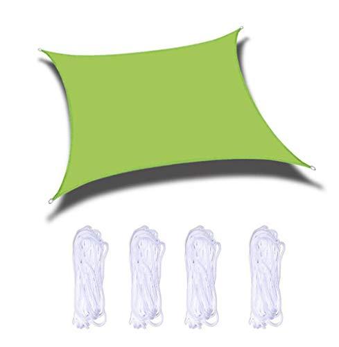 MMADD Velas de Sombra al Aire Libre, Velas rectangulares de Sombra, jardín, terraza, Piscina Dosel de la Piscina Patio toldo Vela ATV,5 * 5M