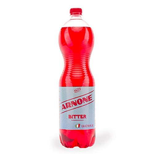 12x Arnone Bitter Aperitivo Italiano alkoholfreies kohlensäurehaltiges Getränk 1,5Lt Softdrink 100% Italienischer Aperitif bitter getränke