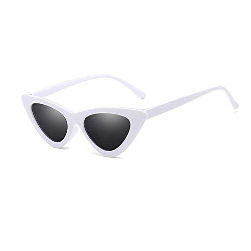 Inlefen Occhiali da sole Cat Eye Occhiali da vista stile vintage Occhiali da vista triangolari Occhiali da vista UV400
