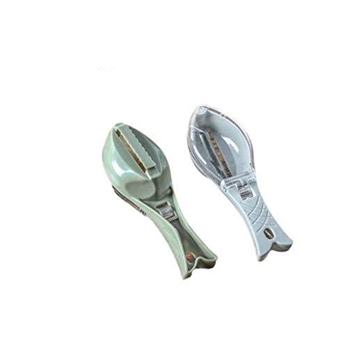 5 PCS Outils ménagers supprimer manuellement Scales Poisson avec Couvercle for la Cuisine, Couleur aléatoire Livraison, Monsteramie