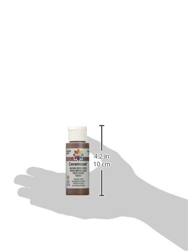 プラッド アクリル絵具 セラムコート ブラウンアイアンオキサイド CE-2023 2oz.