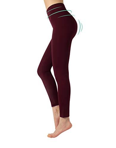Push-up shaper leggings | XS, S, M, L, XL | zwart, bordeaux, blauw navy | ITALIAN HOSIERY |