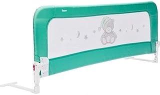 comprar comparacion ZOPA Barrera para la cama MONNA barrera de cama barandilla seguridad de cama niño (Menthol Mint)