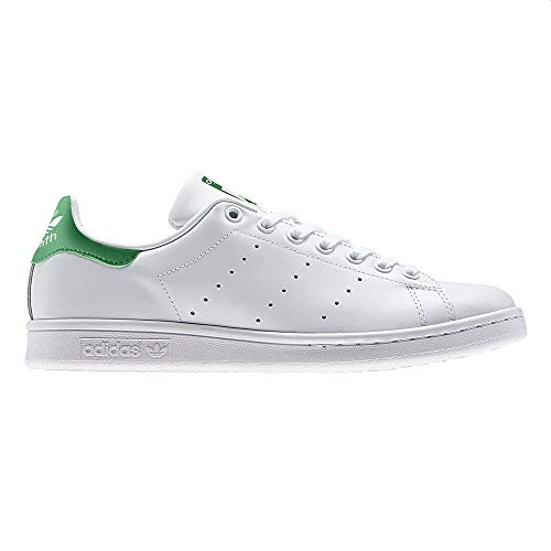 adidas Hombre Stan Smith Zapatillas Blanco, 37 1/3