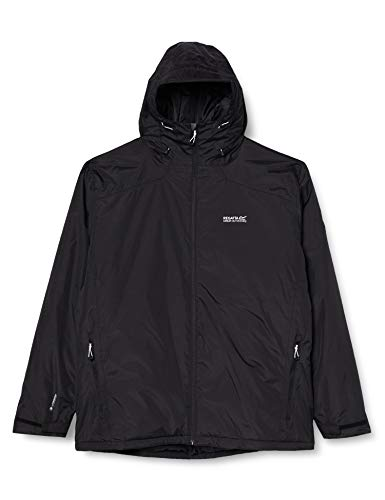 Regatta Veste technique à capuche Imperméable et isolante Thermo-Guard Thornridge Waterproof Insulated Jacket Homme Black FR: XL (Taille Fabricant: XL)