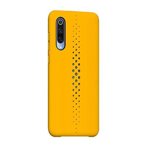 Funda Xiaomi Mi 9 Teléfono Móvil Silicona Bumper Case y Flexible Resistente Ultra Slim Anti-Rasguño Protectora Caso para Xiaomi Mi 9 (Yellow, Xiaomi Mi 9)