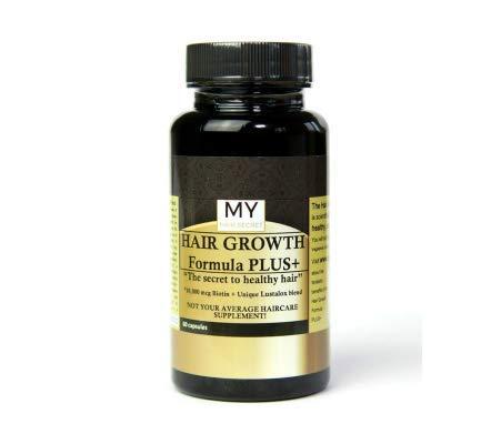 My Hair Secret Hair Growth Supplements with LUSTALOX