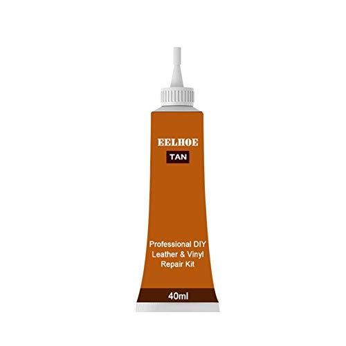 aheadad - Kit de reparación profesional de piel y vinilo, hidratante, para restauración de cuero, para sofás, sillones, asientos de coche, zapatos, chaqueta 20 ml/40 ml