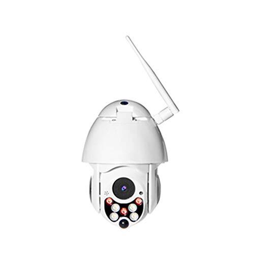 Camera met, WiFi outdoor waterdichte bewegingsdetectie alarm stem, geschikt voor winkelcentrum parkeerplaats straat,1080p + 64g memory card