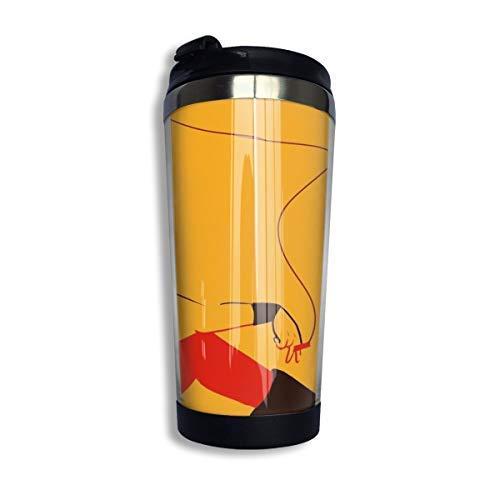 Hdadwy Nana Coffee Travel Mug Taza Vaso aislado al vacío de acero inoxidable 13.5 oz