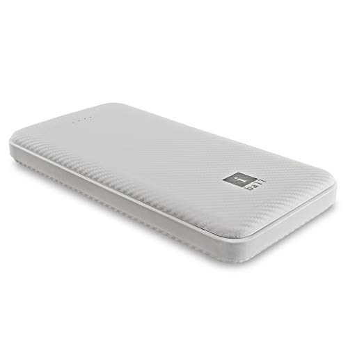iBall 10000 mAh Powerbank (IB-10000LP), Dual USB Output, White