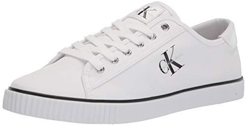 Calvin Klein Damen OLLY Sneaker, Weiß 137, 38.5 EU