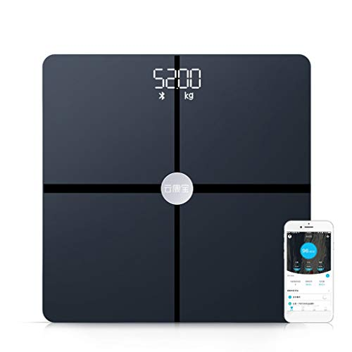 For Sale! AA+ Glass High-Precision Digital Weight Bathroom Scale with Tempered Glass Platform, Elect...