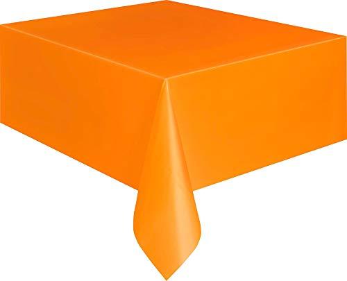 Unieke partij Rechthoek tafelkleed Pack of 1 ORANJE