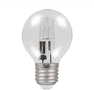 Bombilla Halogena esférica ECO 42W (=60W) rosca E27 de bajo consumo, de luz cálida y regulable. Alta luminosidad: 630 Lm.