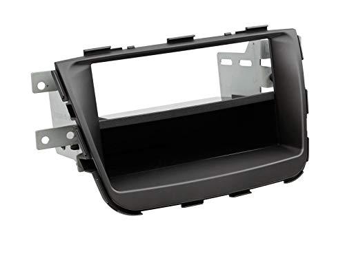 2-DIN radiopaneel met vak Kia Sorento 2013 > zwart