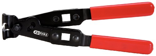 KS Tools 115.1053 Tenazas para abrazaderas (tamaño: 240 mm)