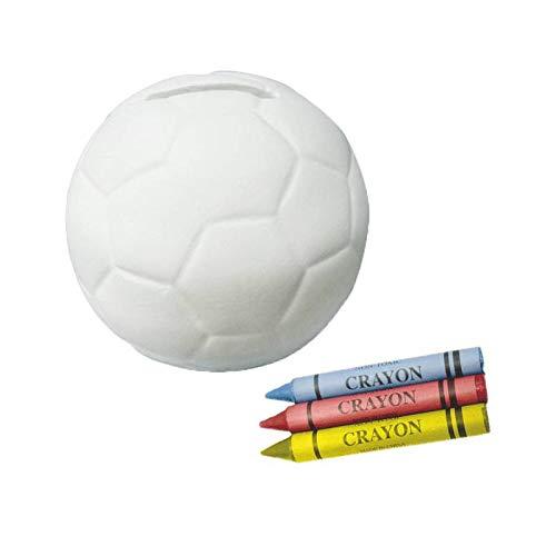 Hucha infantil Cerámica balón Futbol - Detalles y regalos para invitados bodas,...