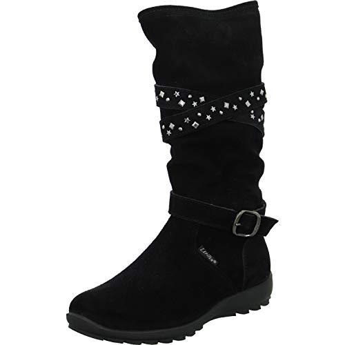 Lepi Stiefel Größe 35 EU Schwarz (Schwarz)