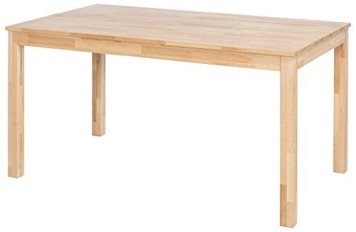 Robas Lund Esszimmertisch Massivholz Tisch Kernbuche, Sergio BxHxT 160 x 76 x 80 cm