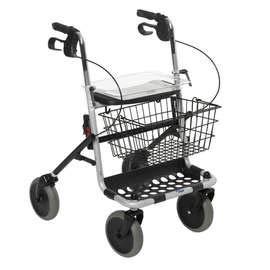 Rollator 4-wiels met Dienblad (verstelbaar)