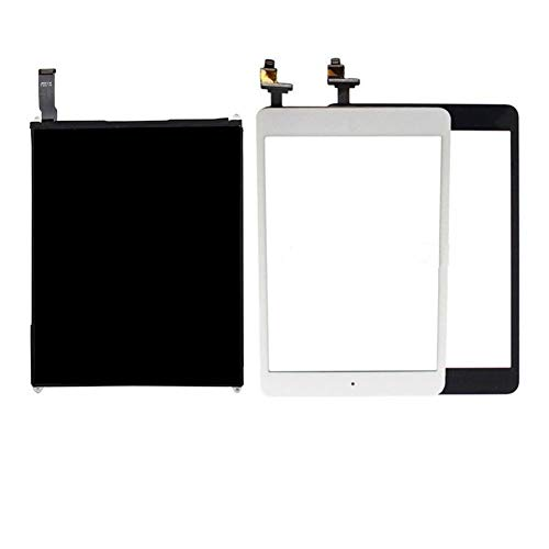 Screen replacement kit Fit For Ipad Mini 1 Touch Screen Digitizer Panel LCD Display Screen Repair Parts Fit For Ipad Mini 1 A1432 A1454 A1455 Repair kit replacement screen