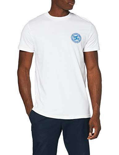 DC Shoes Bonton-Camiseta para Hombre, White, XS