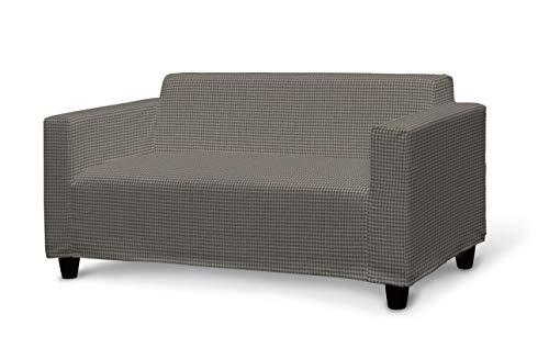 Dekoria Klobo Sofabezug Sofahusse passend für IKEA Modell Klobo grau-beige