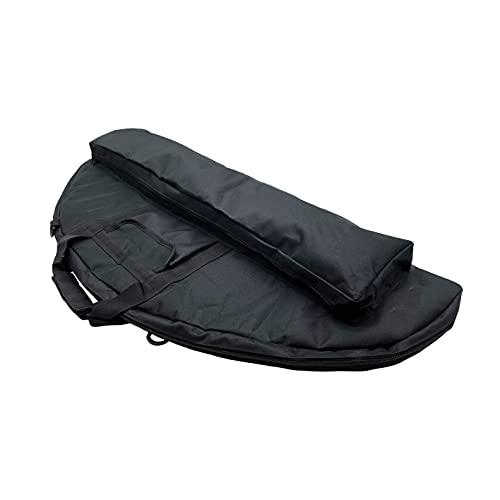 """Jaegvida Archery Bow Case Soft Bow Case Compound Bow Case (Black, 36.5"""")"""
