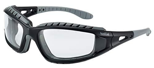 """Bollé Safety BOLTRACPSI """"Tracker"""" Schutzbrille mit klaren Gläsern, Einheitsgröße"""