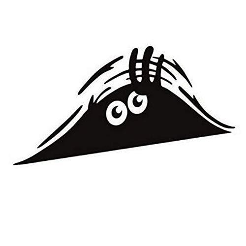 Ndier Divertido spähen Monster Auto Auto Pared Ventana Pegatinas gráficos Vinilo Auto Adhesivos Auto Adhesivo Accesorios Auto Accesorios
