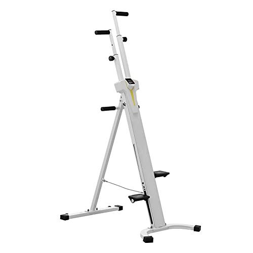 WPHGS Máquina de ejercicios de escalador vertical, máquinas plegables de la máquina de escalada Máquinas de entrenamiento de cuerpo completo for el hogar, la máquina caminata de entrenamiento de la ci