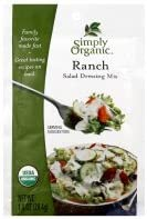 Simply New product! New type Organic Salad Dressing Mix Ranch National products oz 1 of pack 3