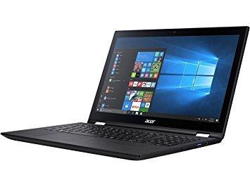 "Acer Spin 3 SP315-51-54MW Intel Core i5 6th Gen 6200U (2.30 GHz) 8 GB Memory 256 GB SSD 15.6"" Touchscreen 1920 x 1080 2-in-1 Laptop Windows 10 Home 64-Bit"