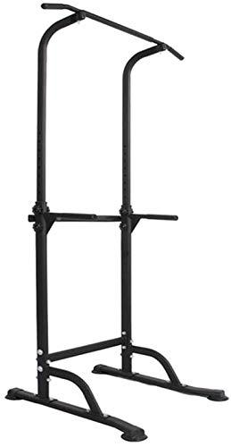 SogesHome Power Tower Stazione Multifunzionale Professionale Barra per esercizi a torre per esercizi di allenamento a casa e palestra 75 x 82 x 165-210 cm,NSD-PSBB005-01