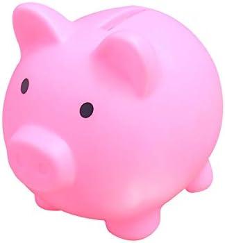SOOTOP Hucha Creativa Adorable Caja de Dinero en Forma de Cerdo para Ahorrar Monedas Y Efectivo Cumplea/ños de Gran Capacidad para Ni/ños