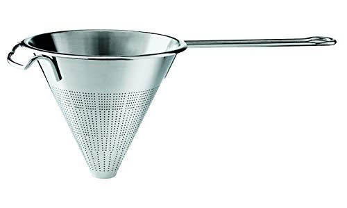 Rösle Spitzsieb, Hochwertiges Sieb zum Passieren von Saucen und Suppen, Edelstahl 18/10, 18 cm Durchmesser, Spülmaschinengeeignet